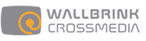 Wallbrink Crossmedia logo